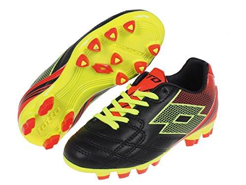 Lotto Sport - Zapatillas de voleibol de Material Sintético para hombre Nero/Giallo