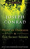 Front cover for the book Heart of Darkness and The Secret Sharer by Joseph Conrad