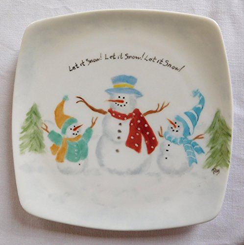 Royal Doulton Latitude Let It Snow! Christmas Plate