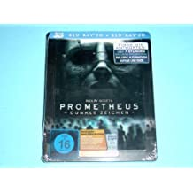 Prometheus Germany Extemely Rare Media Market Exclusive Blu-Ray 3D + 2D Magnet Cover Edition Region Free