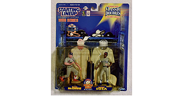 1998 STARTING LINEUP SLU BASEBALL CLASSIC DOUBLES CANSECO MCGWIRE #35