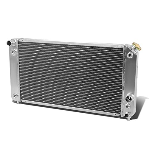 (For Chevy Blazer/S10/GMC Jimmy/Sonoma 4.3L V6 Full Aluminum 3-Row Tri Core Racing Radiator)