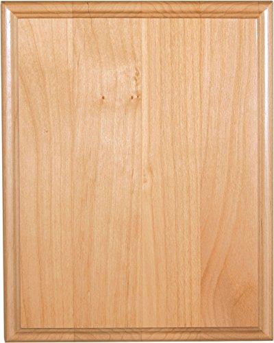 - Ridgecrest Genuine Red Alder Wood Plaque, 8 by 10-inch