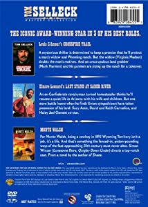 Tom Selleck Western Collection (Monte Walsh / Last Stand at Saber River / Crossfire Trail) from Turner Home Ent