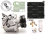 1998 - 2000 Honda Civic L4 1.6L AC A/C Compressor Kit With Condenser With 1 Year Warranty