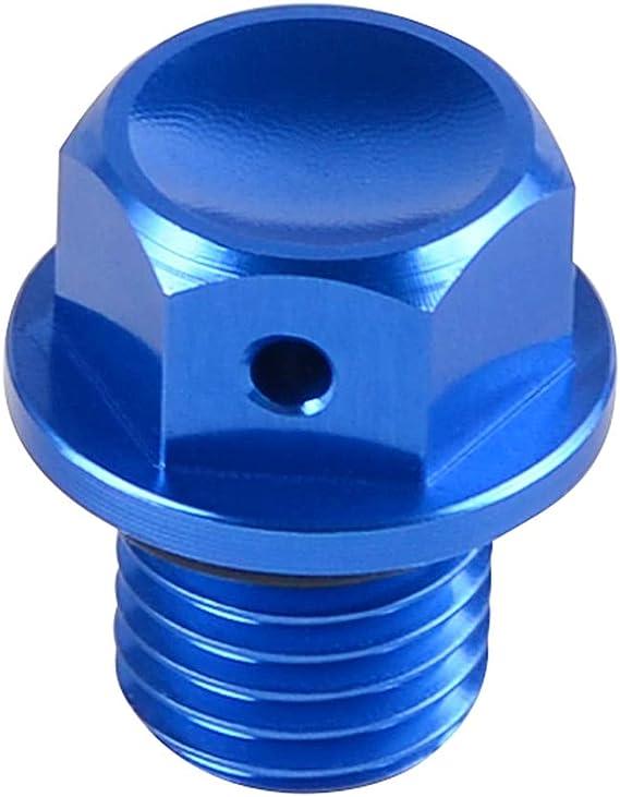 Bullone magnetico di scarico dellolio motore CNC per Husqvarna TC TE FC FE 125 250 125 200 300 450 501 2014-2019 TX FX125-450 2017-2019
