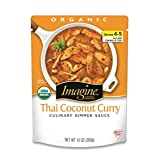 Imagine Culinary Simmer Sauce, Thai Coconut Curry, 10 Ounce (Pack of 6)