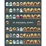 """US National Parks Scratch Off Poster - 16"""" x"""