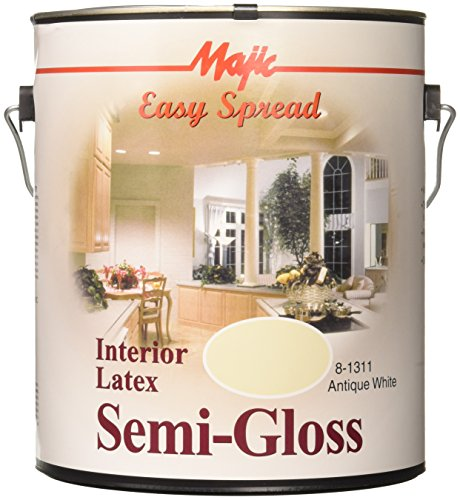 Interior Latex Semi Paint Quality - YENKIN MAJESTIC PAINT INT LTX SG AWHT 8-1311-1 Interior Latex SEMI Gloss Wall Antique White