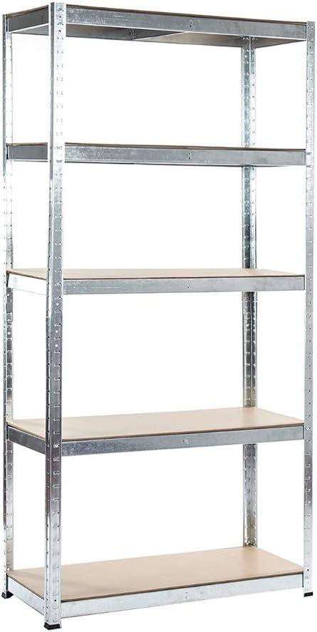 TMZ ® Heavy Duty Metal Shelving Rack Unit 5 Tier Garage Storage Shelf.