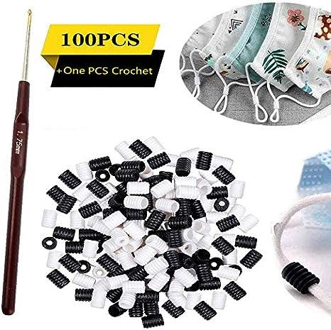 Amazon Com 100pcs Cord Locks Silicone Toggles Elastic Cord