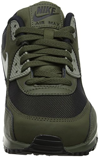 Nike Herren Air Max 90 Essential Low-Top Grün (Cargo Khaki/light Bone/dark St 309)