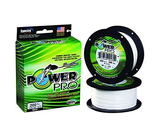 - PowerPro 21101001500W Spectra Braided Fishing Line 100Lb 1500 Yd