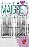 Maigret se fâche par Simenon