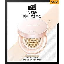 Clio Nudism Water-Grip Cushion Set #4-BO Ginger 12g / 0.42oz + Refill 12g / 0.42oz