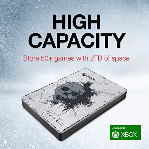 Seagate Game Drive for Xbox 2TB Gears 5 Special Edition External Hard Drive Portable HDD - Designed for Xbox One, 1 Month Xbox Game Pass Membership (STEA2000424)