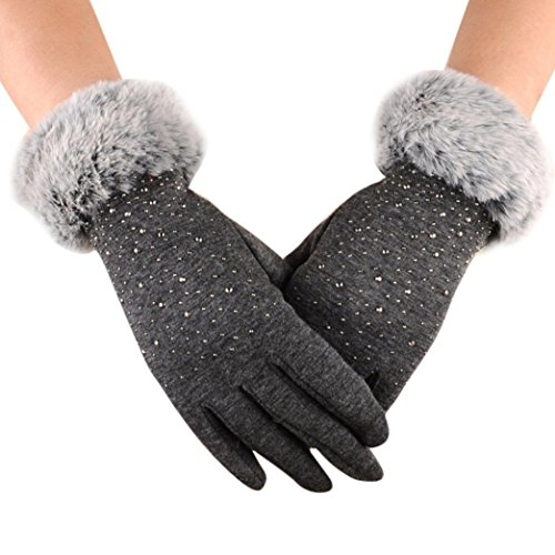 Hot Sale !!! Women's Winter Gloves ,Jushye Womens Fashion Winter Outdoor Sport...