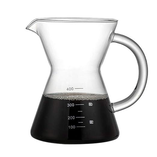 TOOGOO 400Ml Vierta sobre Gotero de Cafe Cafetera Manual Filtro de ...