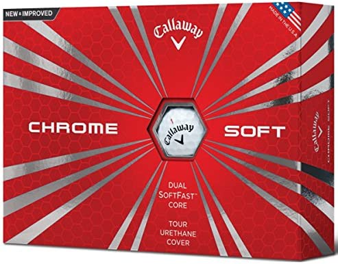 Calaway Chrome Soft Bolas de Golf, Blanco, Talla Única ...