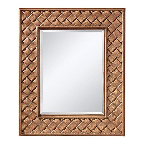 Feiss MR1169BCC Mirror, Buttercream Crackle (Framed Mirror Cream Wall)