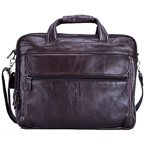Cuero Bandolera Bag 15 Mens Maletín Borsa per 15 Messenger Messenger Para Yαyα Bolso Tote Yαyα laptop Leather De Hombre Briefcase Tote Shoulder vxRR6Y