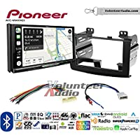 Volunteer Audio Pioneer AVIC-W8400NEX Double Din Radio Install Kit with Navigation, Apple CarPlay and Android Auto Fits 2008-2010 Nissan Rogue