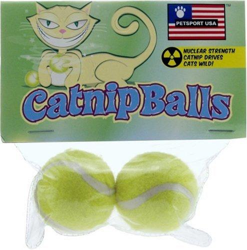 Petsport Catnip Balls 2 Pack (Cat Balls Petsport)