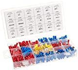 520 Piece Electrical Terminal Assortment with Storage Box