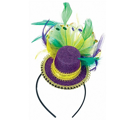 mardi-gras-feathered-headband