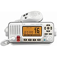 The Amazing Quality Icom M324G Fixed Mount VHF Marine Transceiver w/Built-In GPS - Super White