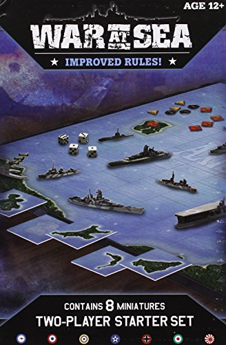 War at Sea Starter: An Axis & Allies Naval Miniatures Game (Allies Miniatures Axis And)