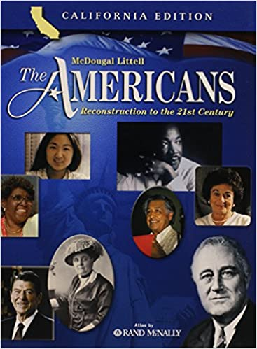 Amazon com: The Americans: Student Edition Reconstruction to
