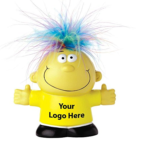 Feel Great Talking Stress Reliever - 50 Quantity - $4.15 Each - PROMOTIONAL PRODUCT/BULK/Branded with YOUR LOGO/CUSTOMIZED