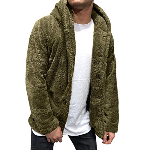 Vickyleb Mens Hoodies Pullover Lightweight,Unisex 3D Cool Printed Hoodies Personalized Hooded Sweater Sweatshirt with Big Pockets Army Green