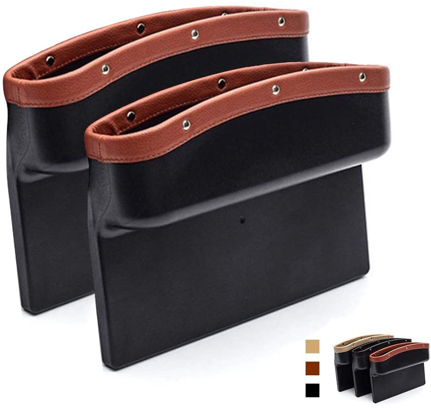 AUTOFAN PU Leather Car Pockets Organizer