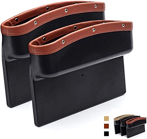 AUTOFAN PU Leather Car Pockets Organizer