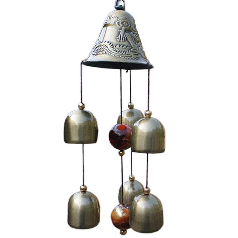Homedeco Inspirational Amazing Grace Wind Chime Outdoor Living Yard Garden Bells Home Decor Wind-Noisemakers