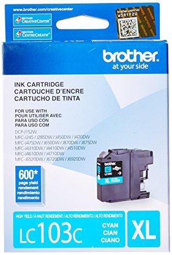 BRTLC103C Brother Innobella LC103C Cartridge
