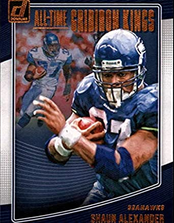 new product e353d 6ef5a Amazon.com: 2018 Donruss All-Time Gridiron Kings #31 Shaun ...