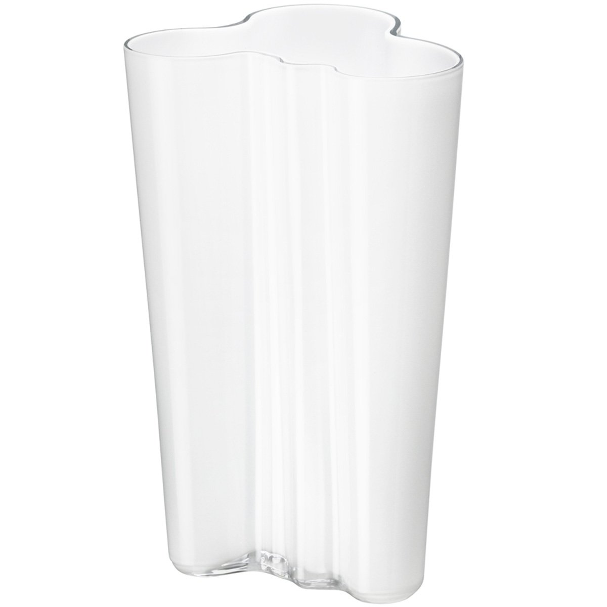 Iittala Alvar Aalto Collection Finlandia Vase 9.75'' White by Iittala