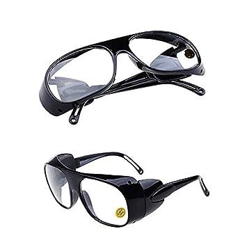 QPX Gafas de Soldador Gafas de Trabajo Gafas de protección láser (Blanco): Amazon.es: Bricolaje y herramientas