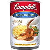 #1: Campbell's Gravy, Mushroom, 10.5 Ounce (Pack of 24) (Packaging May Vary)