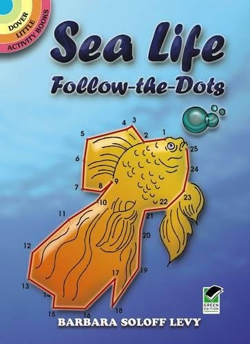 Sea Book Activity Animals (Sea Life Follow-the-Dots (Dover Little Activity Books))