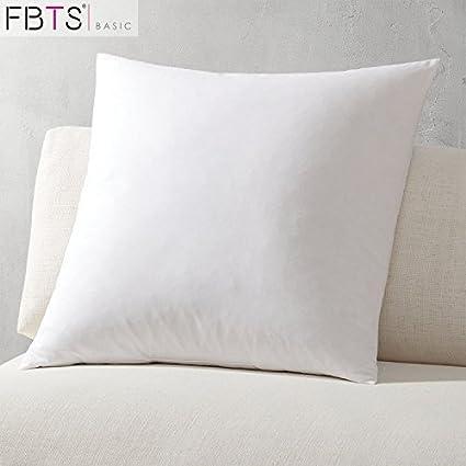 Amazon Throw Pillow Insert 40x40 Inch Hypoallergenic Foam Fascinating 20 X 20 Foam Pillow Insert