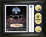 NCAA Connecticut Huskies 2011 National Champions 24KT Gold Banner Photo Mint