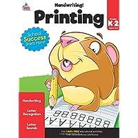 Carson Dellosa | Handwriting: Printing Workbook | Kindergarten–2nd Grade, 80pgs (Brighter Child: Grades K-2)