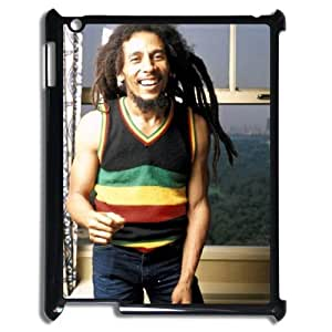D-PAFD Cover Case Bob Marley customized Hard Plastic case For IPad 2,3,4