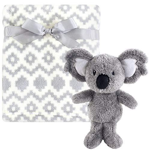 Hudson Baby Unisex Baby Plush Blanket with Toy, Snuggly Koala 2 Piece, One Size
