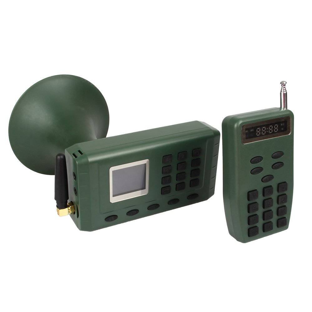Outdoor Hunting Electronic Quail Sounds CP-380 Bird Caller Mp3 Player With Remote Control And Rechargeble Battery