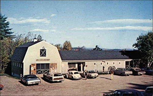 Village Stable (The Stable Gift Shop at Heritage Village Meredith, New Hampshire Original Vintage Postcard)